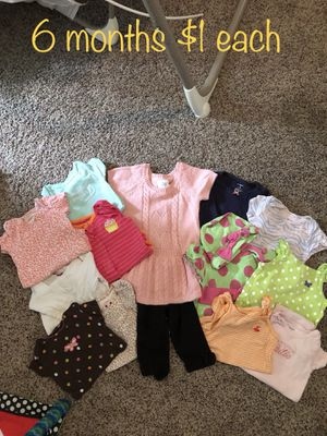 Baby girl n boy clothes $1 each for most 3month to 2T for girl NB to 0-3 in boys. for Sale in Belle Vernon, PA