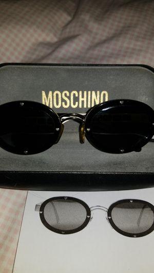 Moschino Oval Black Mirror Sunglasses for Sale in Schiller Park, IL