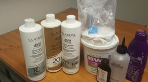 Hair dying supplies, beauty supplies for Sale in Centreville, VA