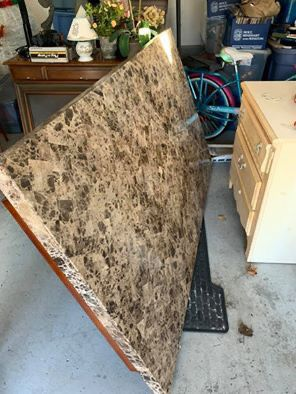 Kitchen table disassembled with 4 legs for Sale in Warren, NJ