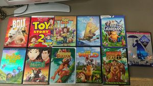 21 kids DVDs mostly Disney for Sale in Marysville, WA