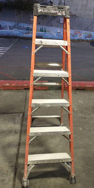 Louisville 6' A-Frame Fiberglass Ladder for Sale in Seattle, WA