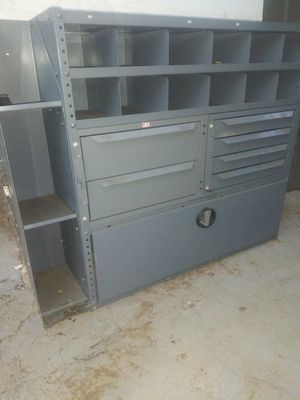 Metal organiser heavy lots of sections for Sale in Norco, CA