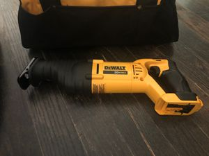 Dewalt cordless Reciprocating Saw (Battery Not Included) for Sale in Lawrenceville, GA
