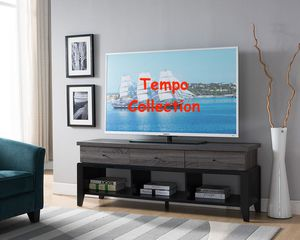 NEW, Ordaz TV Stand up to 70in TVs, Distressed Grey and Black, SKU# 161828 for Sale in Huntington Beach, CA