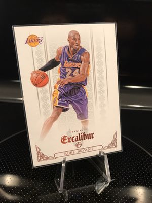 **2014-15 Panini Kobe Bryant Basketball Card**Lakers Jersey 24 Black Mamba Collectible Memorabilia**MINT**$19 OBO for Sale in Carlsbad, CA