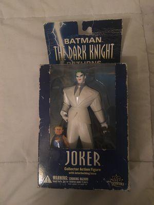 The dark knight Joker action figure original box for Sale in Fort Lee, NJ