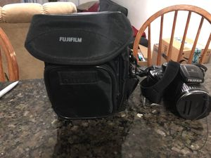 Fuji film digital camera with carrying case for Sale in West Miami, FL
