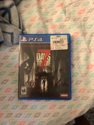 7 Days to Die for PS4! for Sale in Glendale Heights, IL