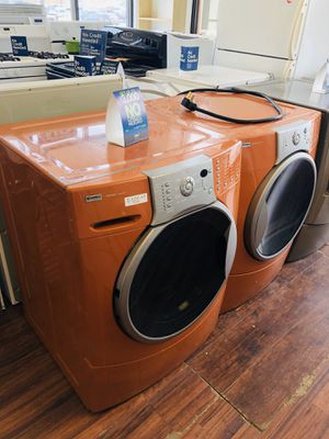 Orange kenmore elite washer and dryer set for Sale in Cedar Hills, UT