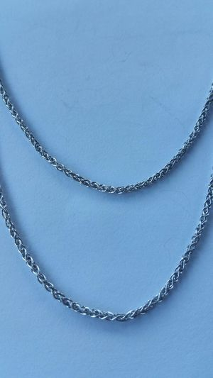 Sterling Silver Wheat Chain for Sale in Leavenworth, WA