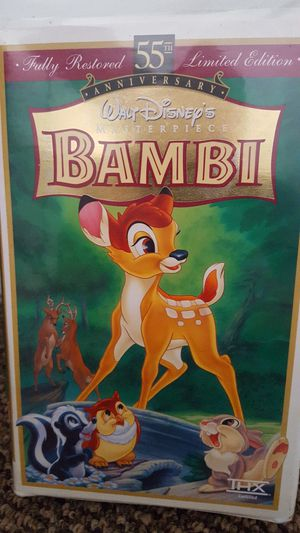 DISNEY'S BAMBI VHS.... for Sale in San Diego, CA