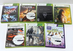 LOT OF 7 Xbox 360 Microsoft Video Games FOR $25 for Sale in Everett, WA