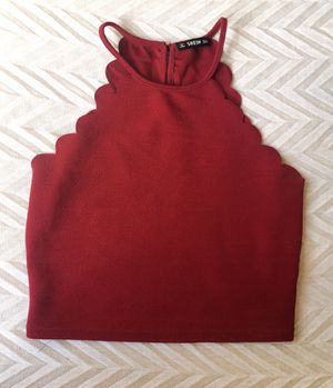Red crop tank top for Sale in Bloomington, IL
