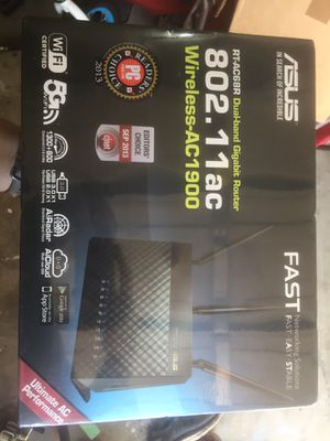 Asus router for Sale in Conroe, TX