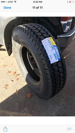 Semi truck tire drive,steer and trailer. $216 each New for Sale in New Haven, CT