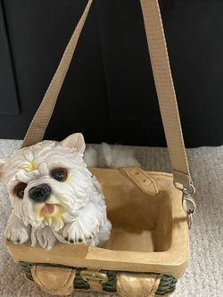 Brand New Adorable West Highland white Terrier with the cutest basket décor for Sale in Nokesville,  VA
