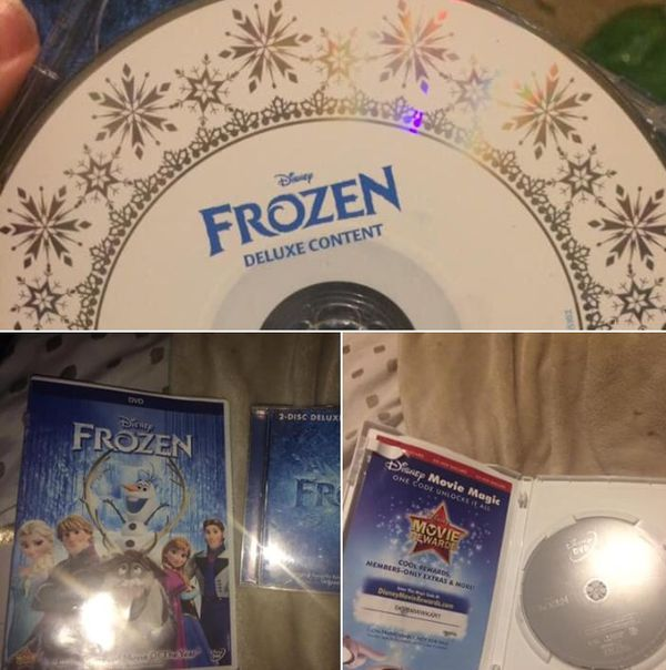 frozen movie and cd