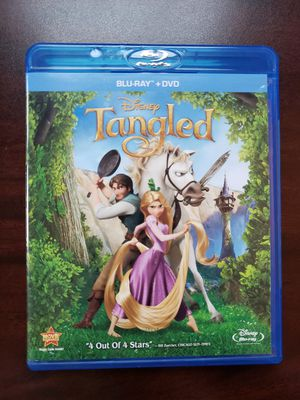Tangled Blu-ray and The Incredibles Dvd for Sale in Houston, TX