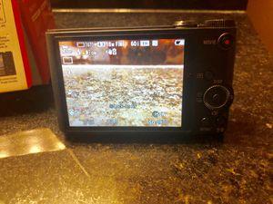 Sony Cyber-Shot DSC-WX350 18.2 MP Compact Digital Camera - Black for Sale in Rosemount, MN