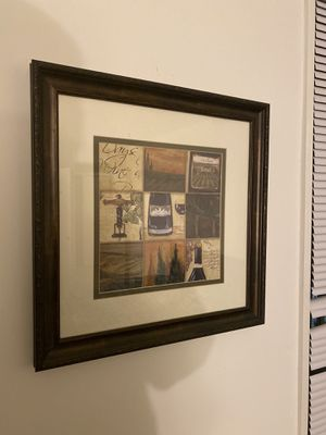 Nice art frame for interior for Sale in Fairfax, VA