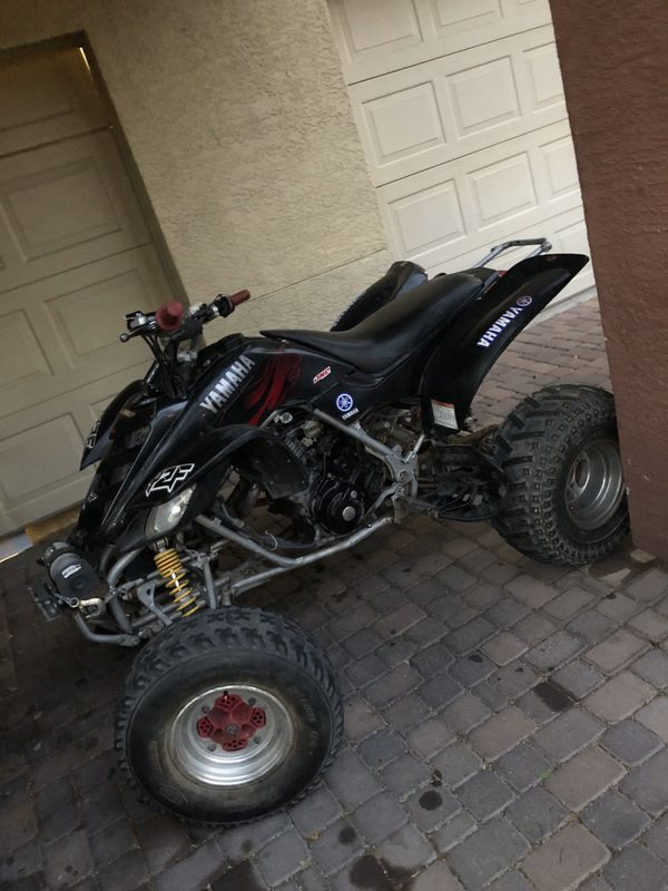 2002 Yamaha raptor 660