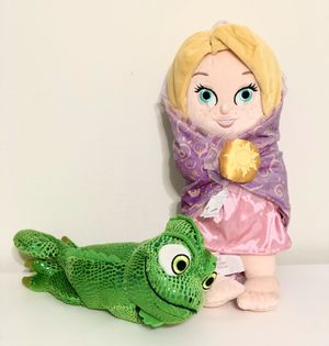 Disney Raounzel Baby and Pascal Plush for Sale in Orlando, FL