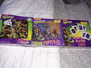Teenage Mutant Ninja Turtles Puzzle and Games for Sale in Nether Providence Township, PA