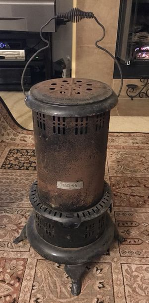 Vintage BOSS Outdoor Patio Plant/Garden Camping Carosene/Lamp Oil Heater for Sale in Beaumont, CA