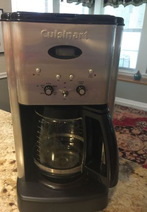 Cuisinart 12 cup programmable coffee maker for Sale in New Braunfels, TX