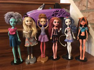 Monster High Dolls and Car for Sale in Fremont, CA