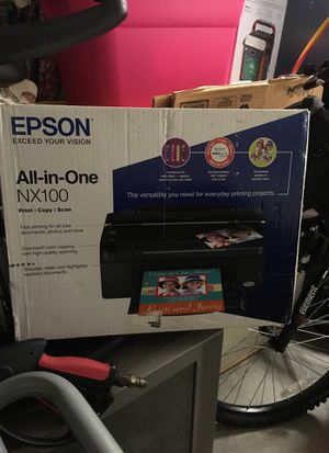 Epson All in One Printer - NX100 - Print - Copy - Scan for Sale in St. Cloud, FL