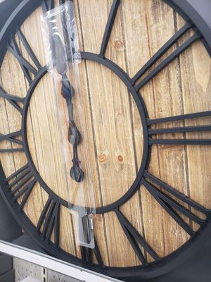 Wall Clock 23 inches diameter (58.4cm) for Sale in Germantown, MD