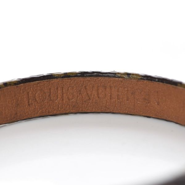 LOUIS VUITTON Monogram Alma Bracelet 17
