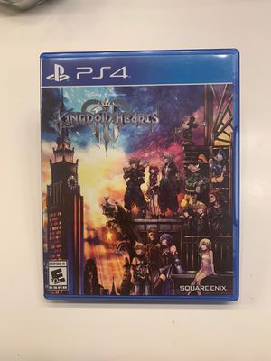 Kingdom Hearts 3 playstation 4 PS4 for Sale in San Diego, CA