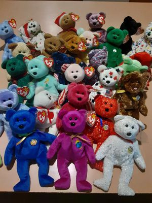 Bear beanie baby collection for Sale in Brentwood, CA