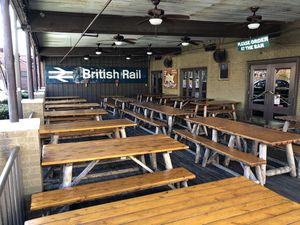 Outdoor furniture—cedar log picnic tables for Sale in Columbia, SC