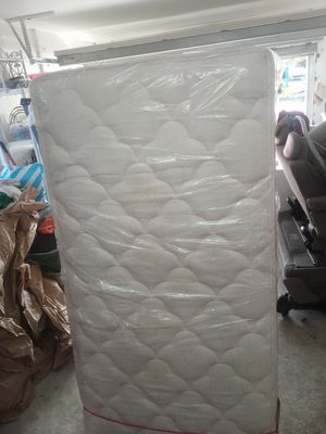 Twin Mattress With Bed Frame for Sale in Vero Beach, FL