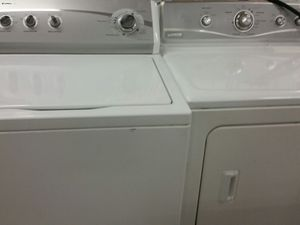 Washer and dryer 90 days warranty for Sale in Alexandria, VA