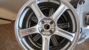 Set of 4**18in rims great condition... Must Go! for Sale in Salt Lake City, UT