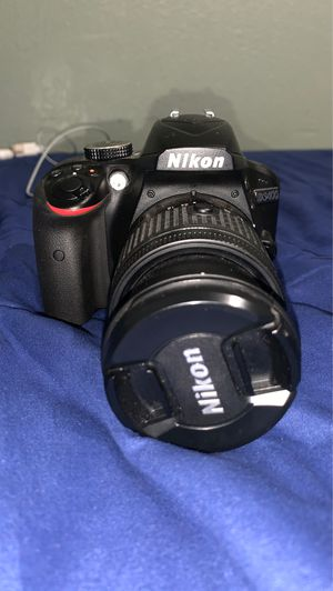 Nikon D3400 With 3 Lenses. (8/10) for Sale in Compton, CA