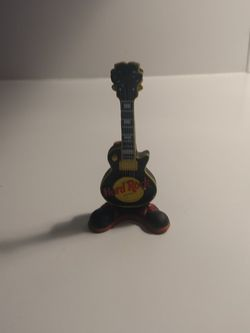 Hard Rock Cafe Plastic Standing Guitar Figurine for Sale in Aberdeen,  WA