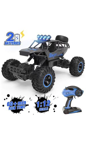 Remote Control Car, 1/12 Scale High Speed Racing RC Cars with 2.4Ghz Radio Remote Control, 4WD Off Road RC Car Gifts for All Adults & Kids for Sale in Corona, CA