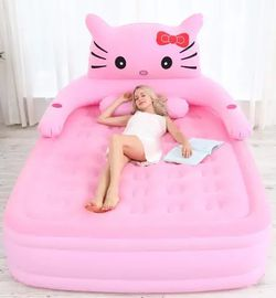 Pink Hello Kiddy Air Mattress for Sale in Houston,  TX