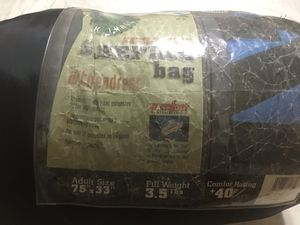 Adult sleeping bag with head rest for Sale in Rancho Cucamonga, CA