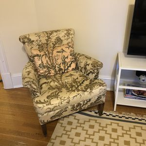 Small Antique Upholstered Chair for Sale in Washington, DC