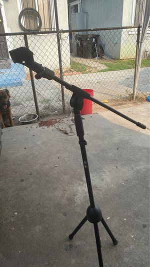 Microphone stand for Sale in Los Angeles, CA