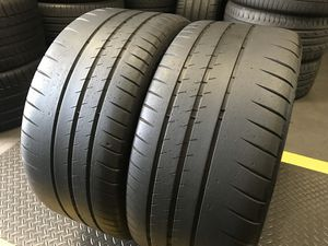 (2) Michelin 265/35R19 Pilot Sport CUP 2 Tires 265 35 19 Used Tires 265/35/19 for Sale in Santa Ana, CA