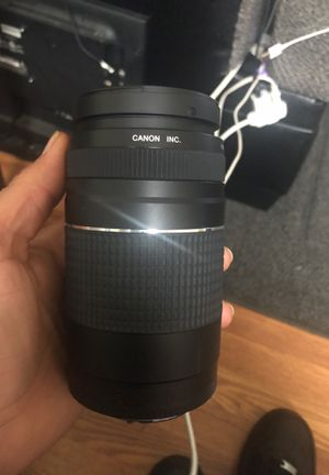 Canon 75-300mm lenses for Sale in Portland, OR