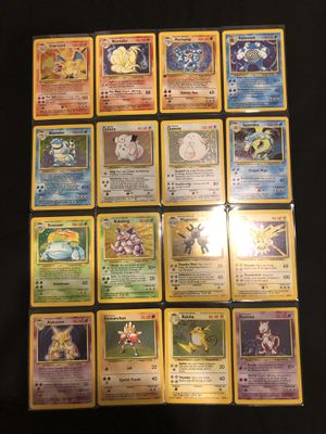 Pokemon Cards - Complete Base Set Holo Collection - for Sale in Winter Garden, FL